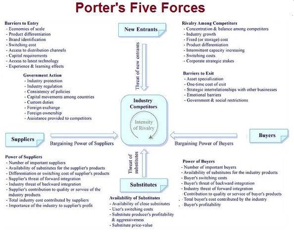 Strategy tasko consulting for Porter 5 forces critique